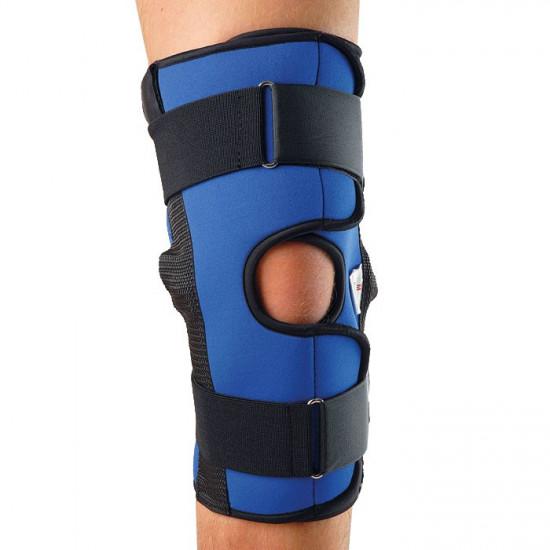 Ортез разъемный для сильной фиксации коленного сустава К-1 (металлические шарниры)
