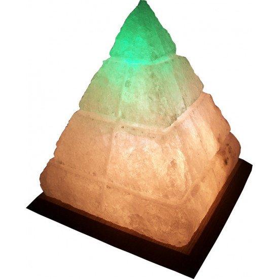 Соляная лампа Пирамида Египетская 4-6кг