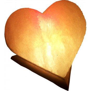 Соляная лампа Сердце 5-6 кг