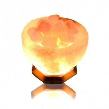 Соляная лампа Чаша огня 5-6кг