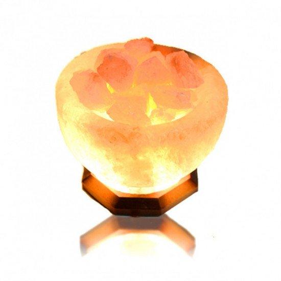Солевая лампа Чаша огня 5-6кг