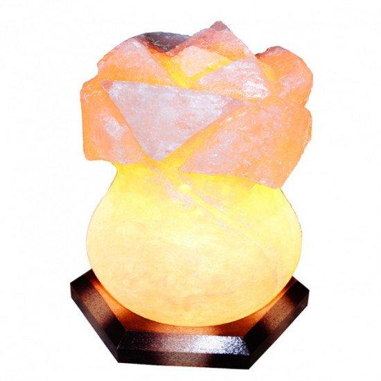 Соляная лампа Роза 4-5 кг