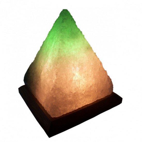 Соляная лампа Пирамида 4-6кг