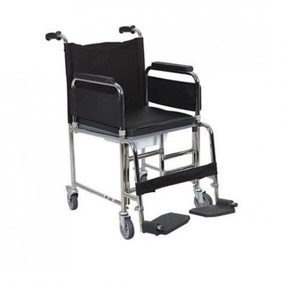 Многофункциональная инвалидная коляска с санитарным оснащением Heaco Golfi-5