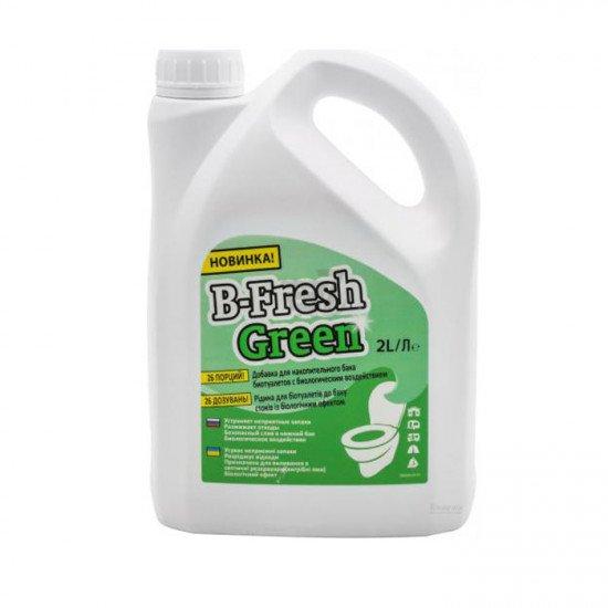 Средство для биотуалетов B-Fresh Green, 2 л