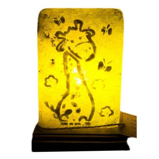 """Соляная лампа """"Жирафик"""" 3,5 кг"""