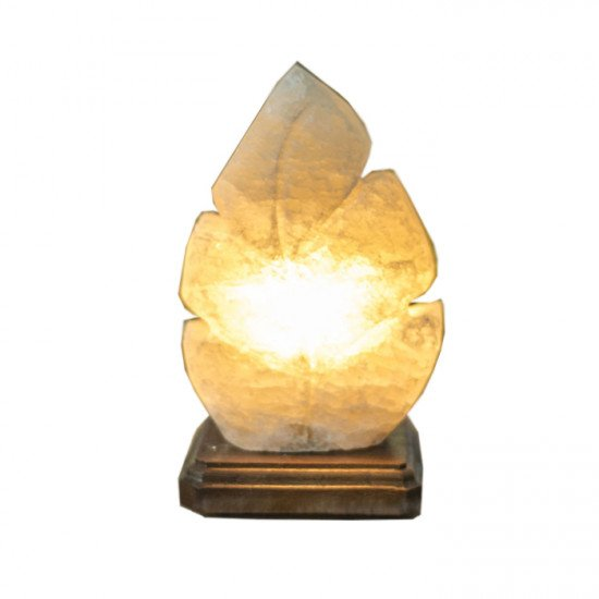 """Соляная лампа """"Лист"""" 2  кг"""