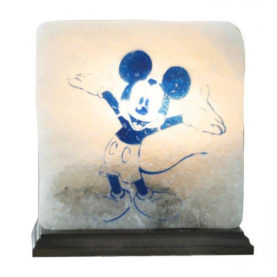 """Соляная лампа """"Микки Маус"""" 4,2  кг"""