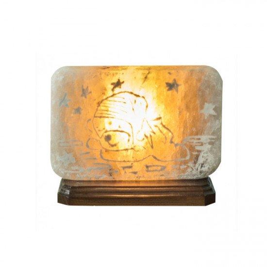 """Соляная лампа """"Мишка"""" 3,5  кг"""