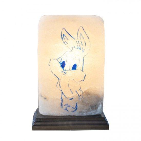 """Соляная лампа """"Заяц малый"""" 3,5  кг"""