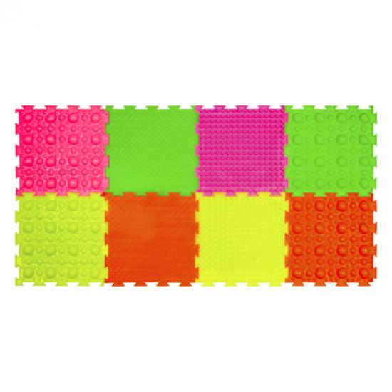 Набор модульных ковриков Светлячок, флуоресцентные цвета