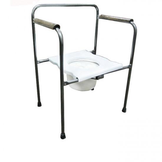 Стул туалетный стальной Medok MED-04-005