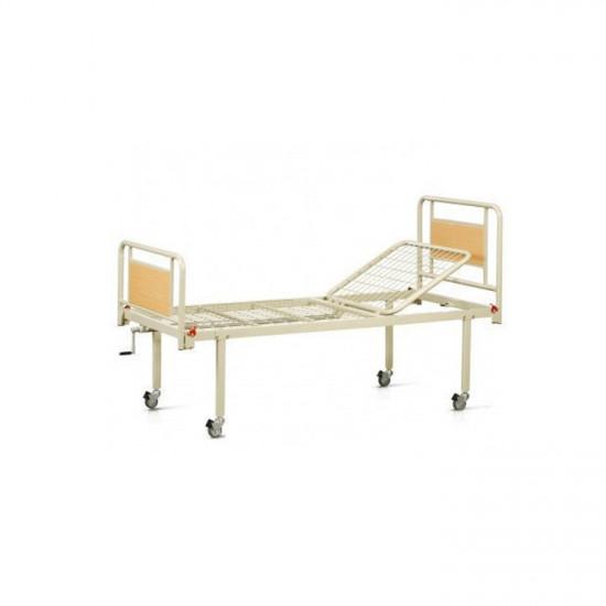 Кровать функциональная механическая 2-х секционная на колесах REHA-B1