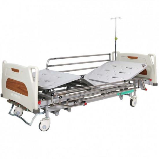 Медицинская кровать с регулировкой высоты (4 секции), OSD-9017