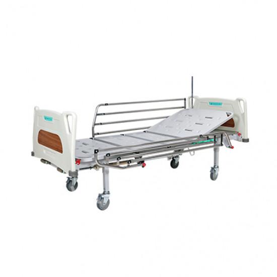 Кровать функциональная механическая 4х-секционная на колесах REHA-F1