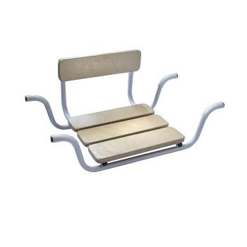 Сиденье для ванны углубленное со спинкой Medok MED-05-008
