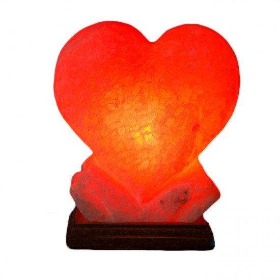 """Соляная лампа """"Сердце Большое """" 4  кг"""