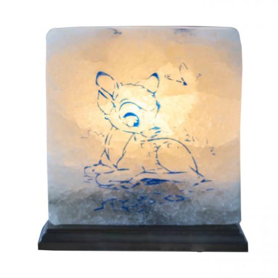 """Соляная лампа """"Оленёнок"""" 4,2  кг"""