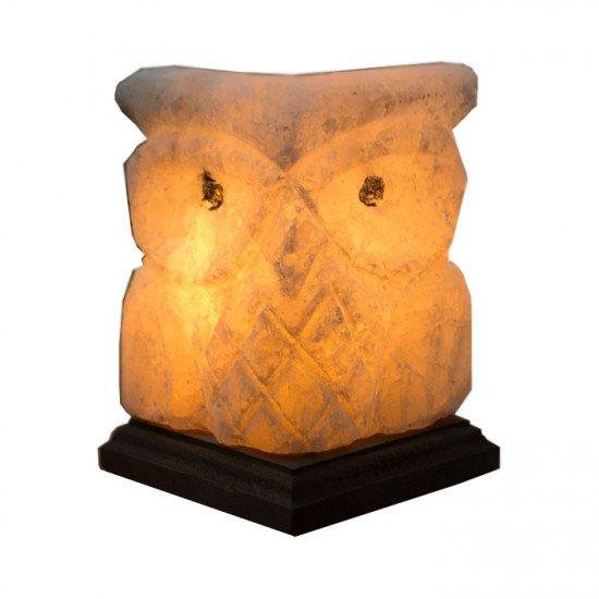 "Соляная лампа ""Совенок"" 1,5  кг"