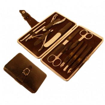Маникюрный набор Zauber MS-150 Premium (11 предметов)