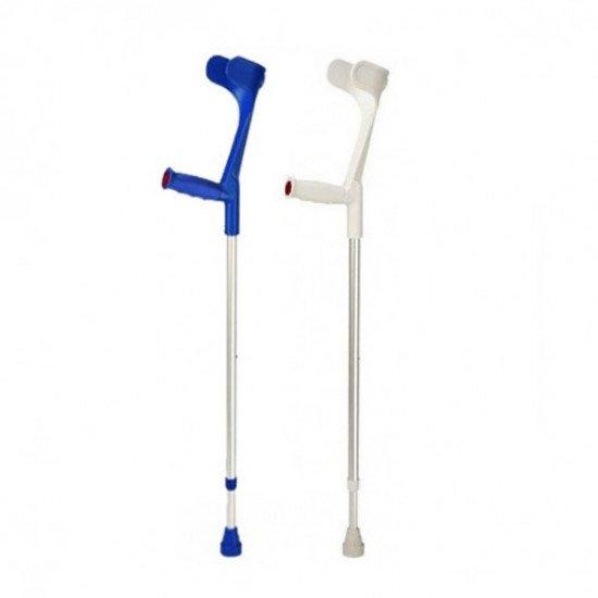Костыли подлокотные Klassiker 220 DK blue твердая ручка