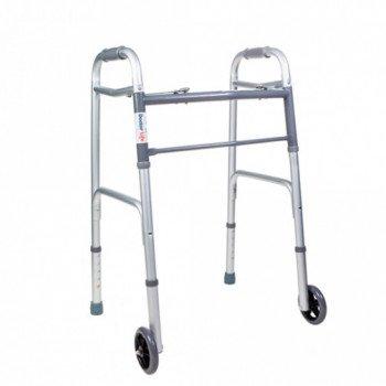 Ходунки складные с колесами Dr. Life 10184