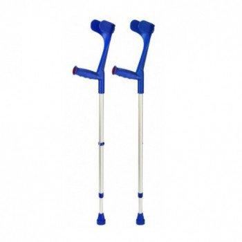 Костыли подлокотные Klassiker 220 DK blue мягкая ручка