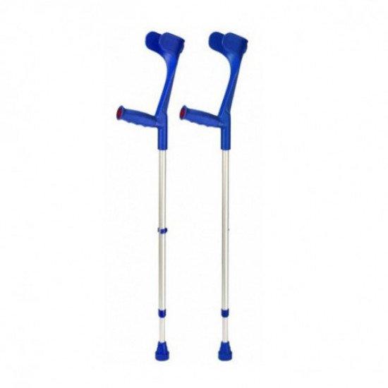 Костыль подлокотный Klassiker 220 DK blue мягкая ручка