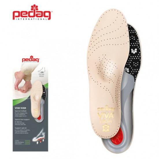 Ортопедическая каркасная стелька-супинатор для обуви с высоким подьемом Pedag VIVA HIGH 189