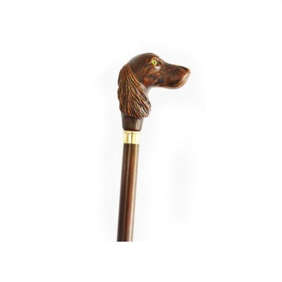 Трость Garcia Artes 540 с рукояткой в виде головы собаки