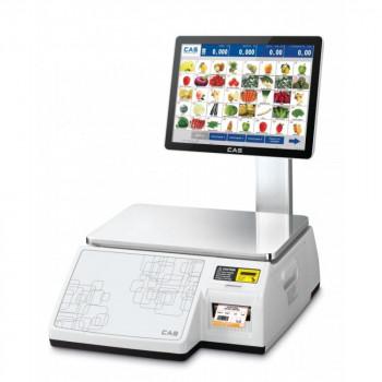 Весы торговые с печатью этикеток CAS CL-7200S-2