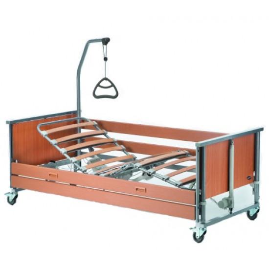4-х секционная кровать с электроприводом Invacare Medley Ergo W