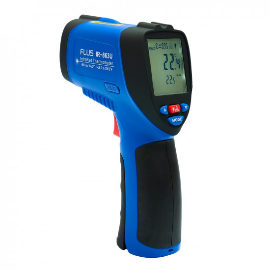 Инфракрасный термометр - пирометр Flus IR-863U