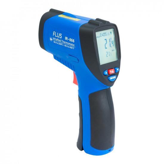 Инфракрасный термометр - пирометр Flus IR-866
