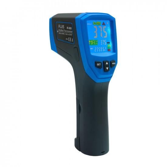 Инфракрасный термометр - пирометр Flus IR-868
