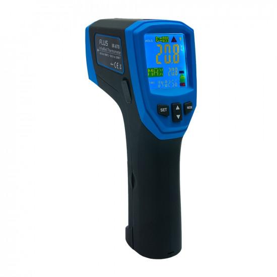 Инфракрасный термометр - пирометр Flus IR-870
