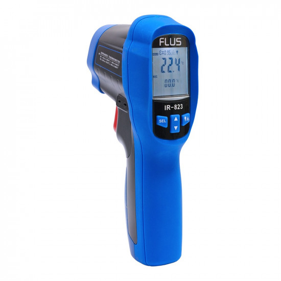 Инфракрасный термометр - пирометр Flus IR-823
