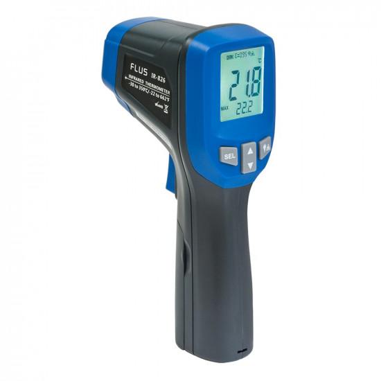 Инфракрасный термометр - пирометр Flus IR-826