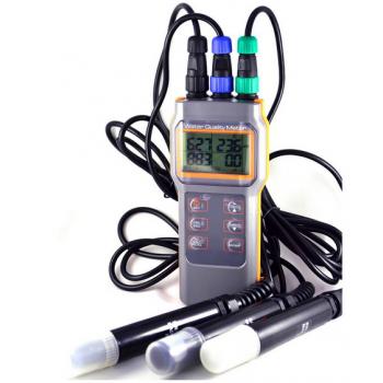 Оксиметр/рН-метр/кондуктометр/солемер (4 в 1) AZ-8603