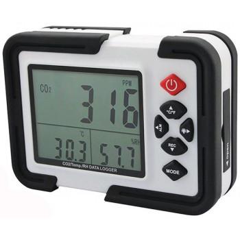Детектор - сигнализатор CO2, термогигрометр, логгер Xintest HT-2000
