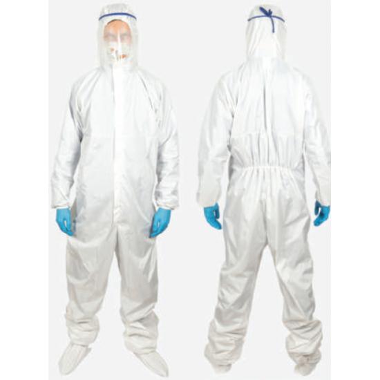 Защитный комбинезон с капюшоном и водостойким покрытием (глажка до 200⁰)