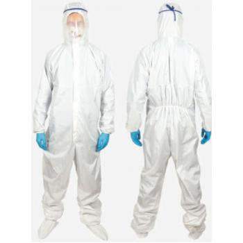 Защитный комбинезон с капюшоном и водостойким покрытием (глажка 75-85⁰)