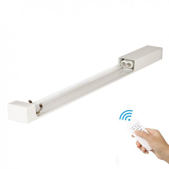 Кварцевый бактерицидный облучатель настенный SM Technology SMT-W60/360 Безозоновый 60 Вт с пультом ДУ и таймером