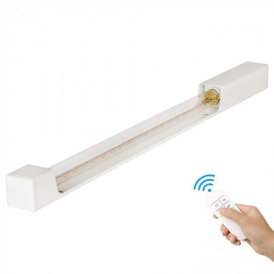 Кварцевый бактерицидный облучатель настенный SM Technology SMT-W15/360 Озоновый с пультом ДУ и таймером