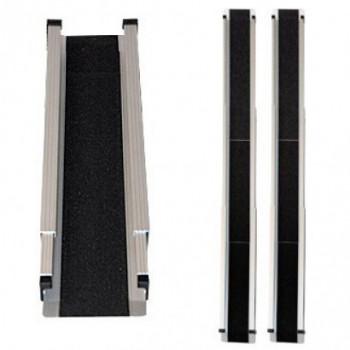 Складной алюминиевый пандус для инвалидных колясок (212 см) JBS317